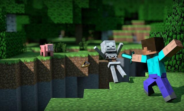 fondo de pantalla minecraft