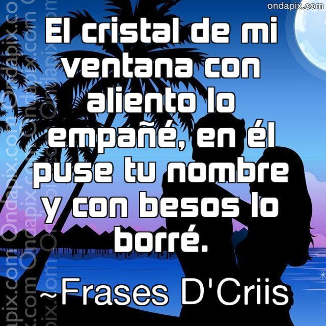 Frases De Amor Frases Dcriis