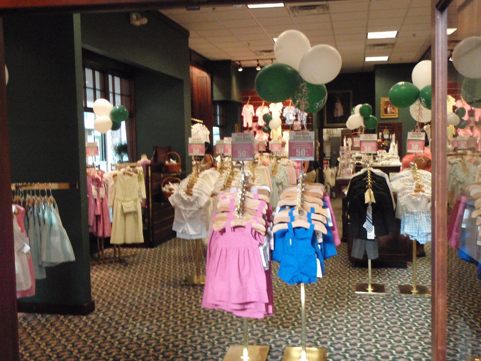 Strasburg children clothing store