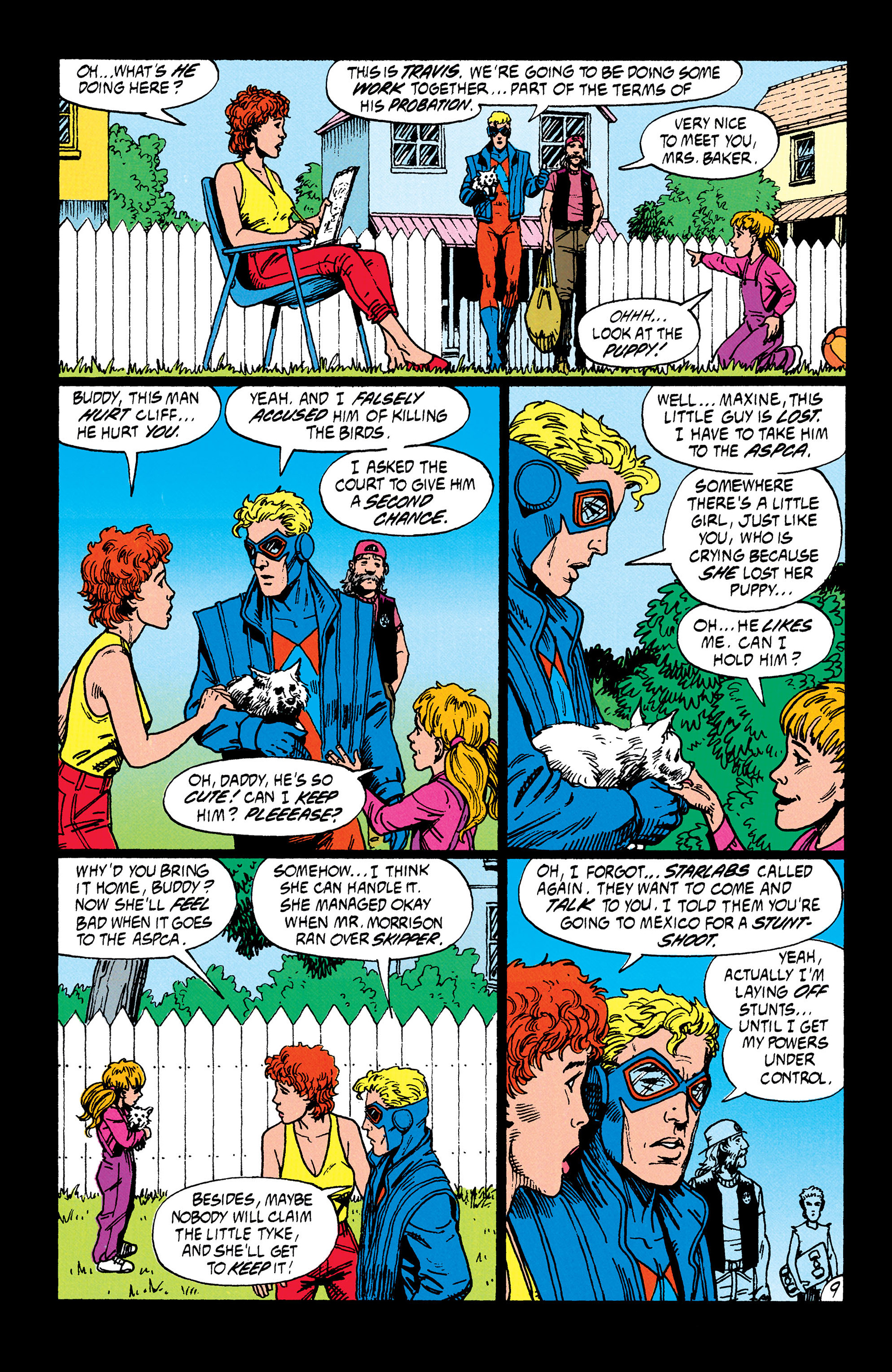 Read online Animal Man (1988) comic -  Issue #35 - 10