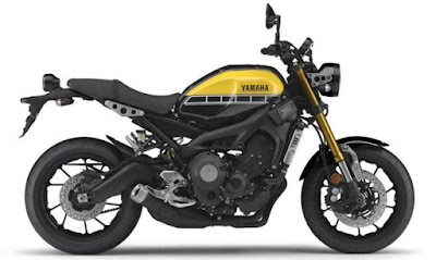 Yamaha XSR900 side view images