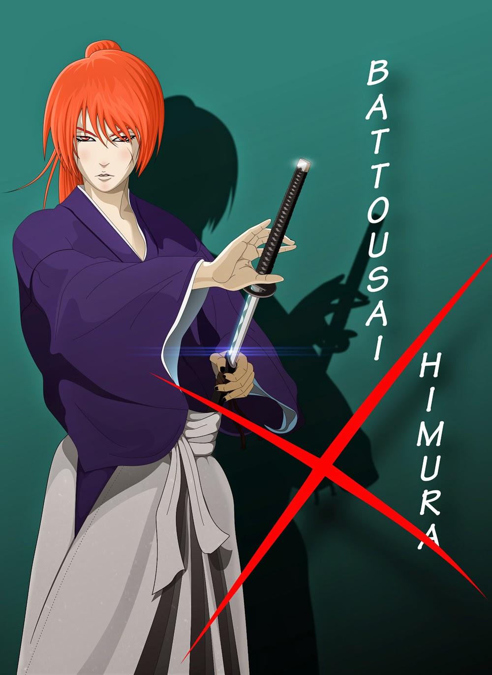 Battousai Himura, Kenshin Himura, Rurouni Kenshin, Kyoto Inferno, The legend Ends