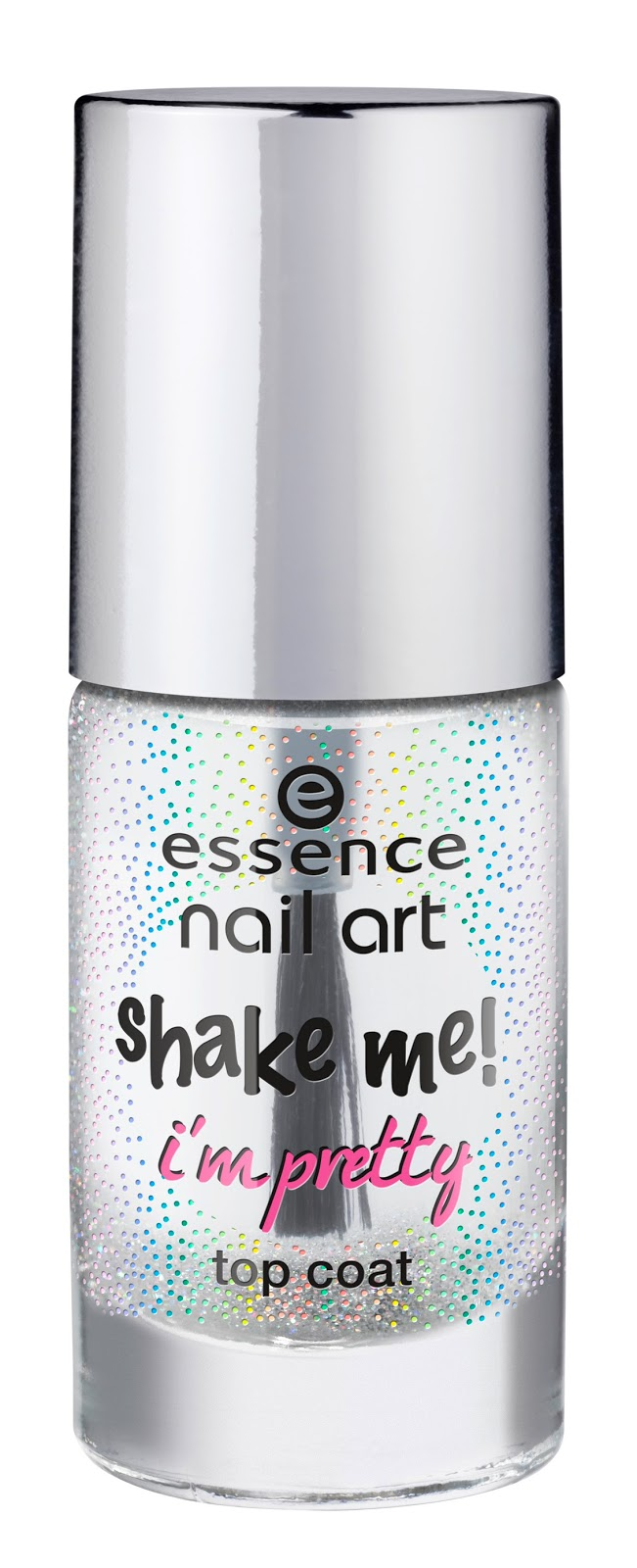 Essence nail art shake me! I'm pretty top coat