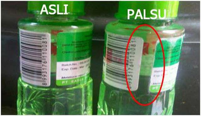 Hati-hati Minyak Kayu Putih Palsu