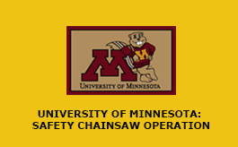 Safety Chainsaw Operation