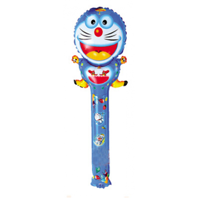 Balon Foil Tongkat Doraemon