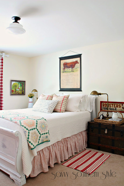 Southern Farmhouse Bedroom Ideas: SAVVY SOUTHERN STYLE {MY FAVORITE 5}
