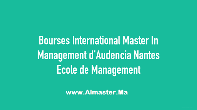 Bourses International Master in Management