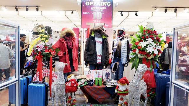 koleksi fashion musim dingin di raja fo