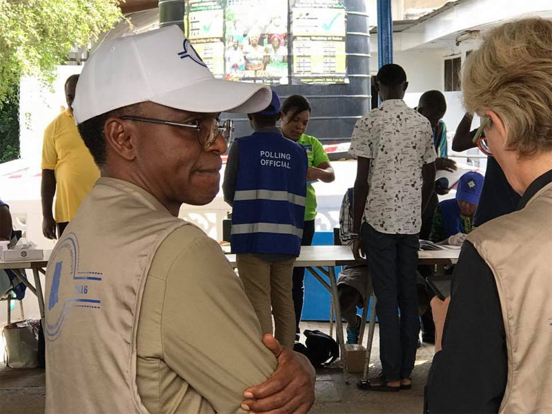 Photos: El-Rufai monitors election in Ghana