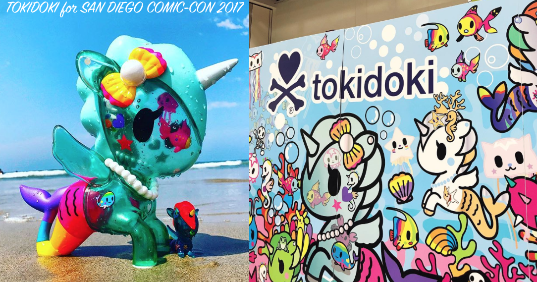 San Diego Comic Con 2019 SDCC Exclusive Tokidoki Fan