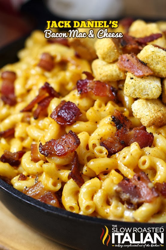 http://www.theslowroasteditalian.com/2014/02/jack-daniels-bacon-mac-and-cheese-recipe.html