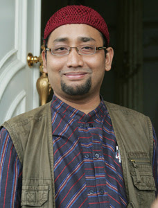 photo kang Abik (Habbiburrahman El Shirazy)