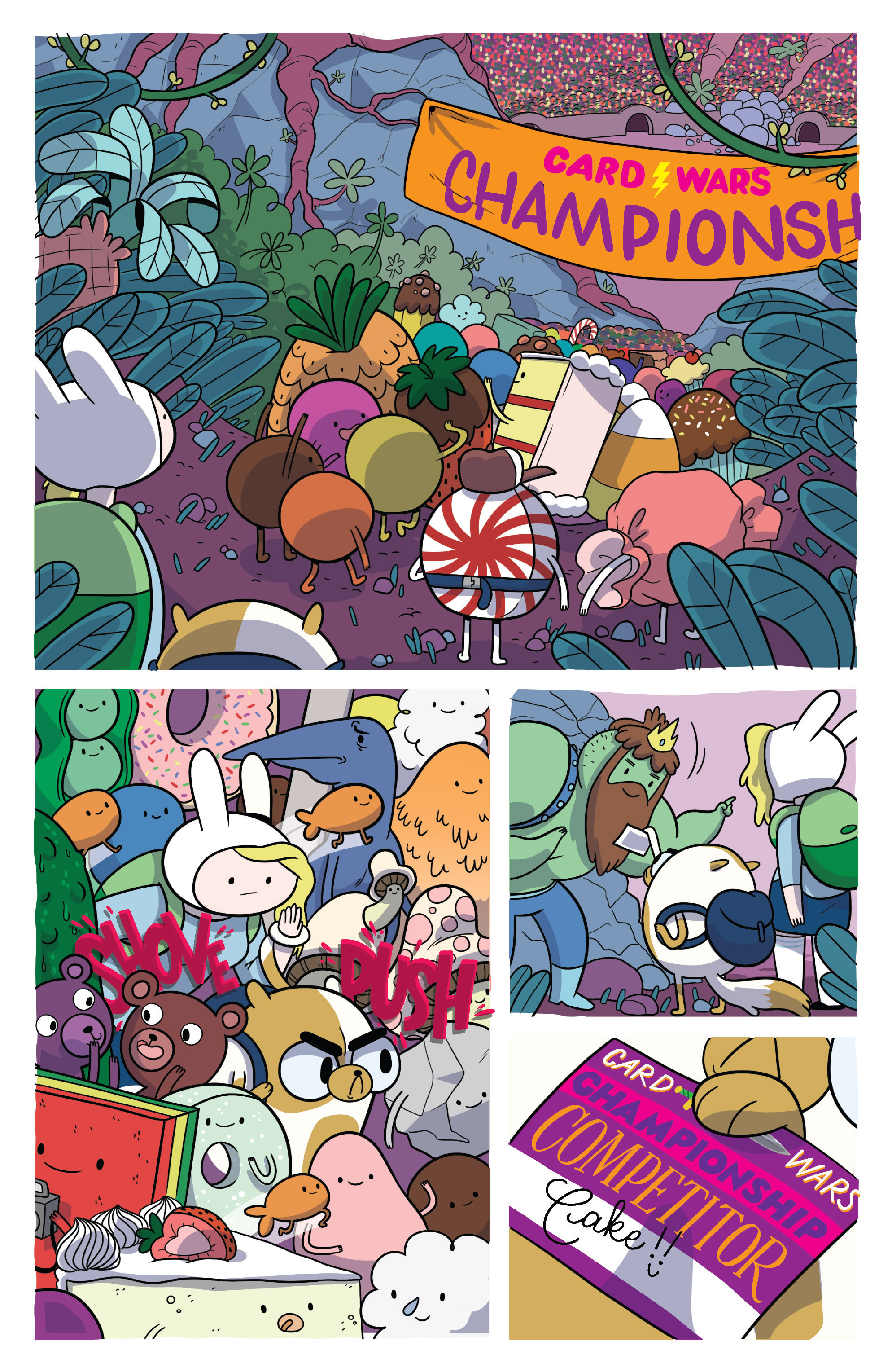 Read online Adventure Time Fionna and Cake Card Wars comic -  Issue #4 - 5