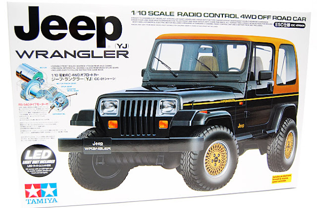 Tamiya Jeep Wrangler box art