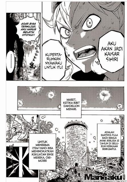 Download Black Clover Chapter 1 Bahasa Indonesia