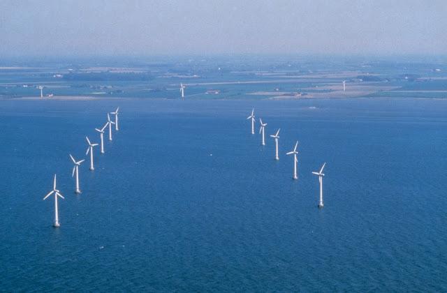 Primer parque eólico marino del mundo