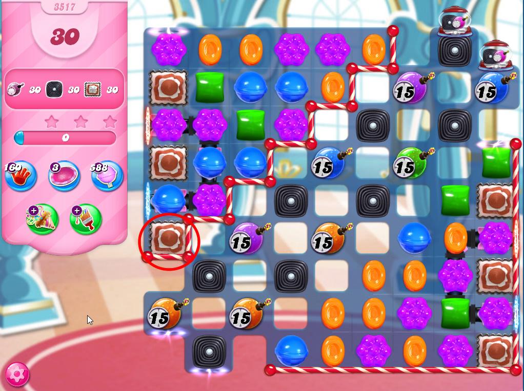 Candy Crush Saga level 3517