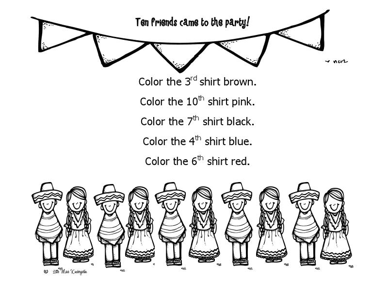 Classroom Freebies Too: Cinco de Mayo Ordinal Fun!