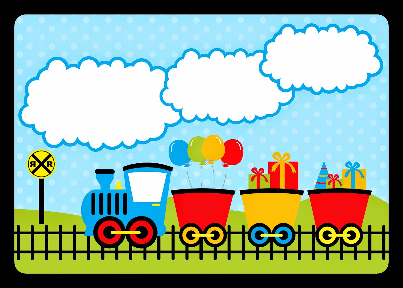 Train Party: Free Printable Invitations. | Is it for ...