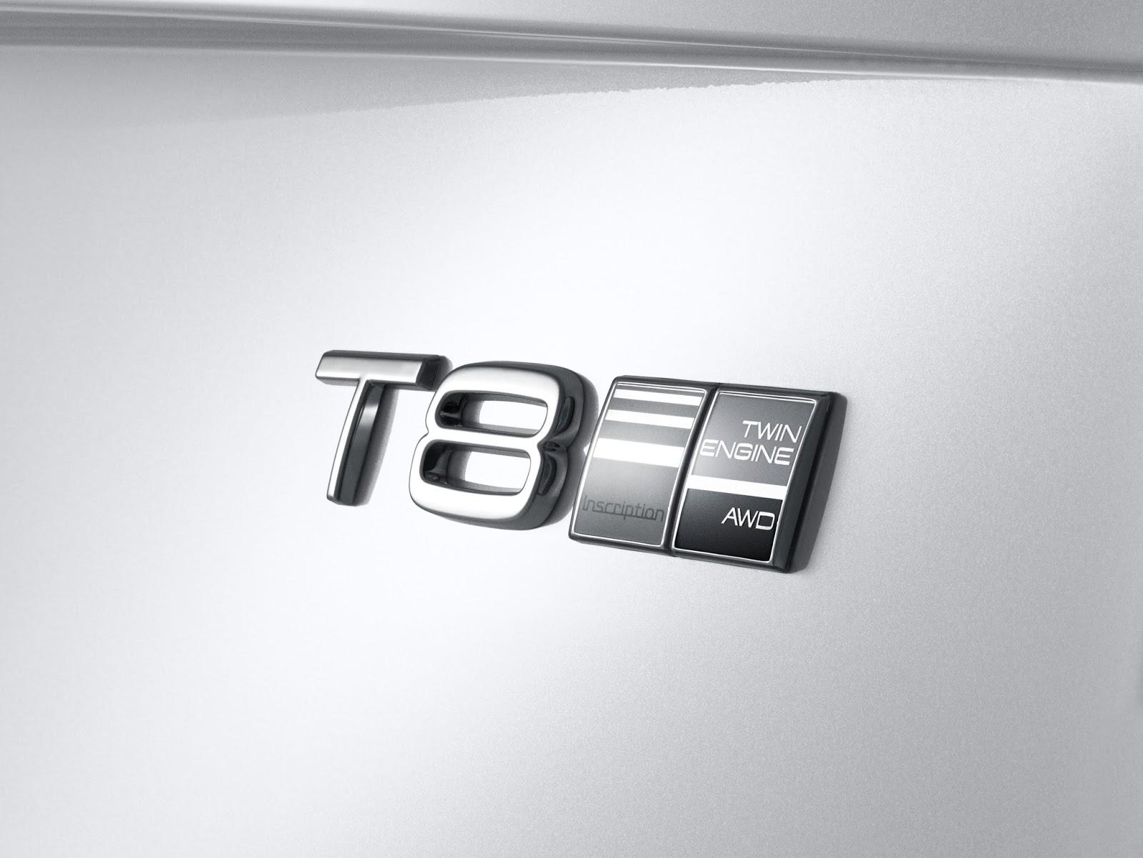170170 Emblem Twin Engine T8 Volvo S90 Inscription White Το νέο Volvo S90 έρχεται και βάζει φωτιά στον ανταγωνισμό premium sedan, Volvo, Volvo Cars, Volvo S90