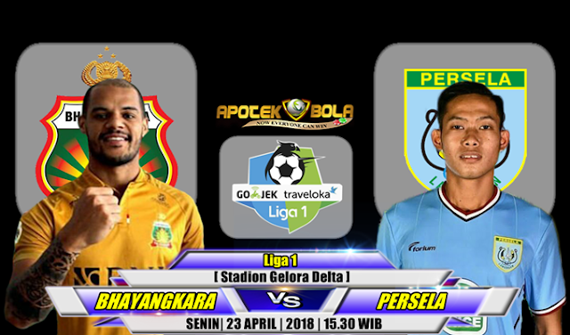 Prediksi Bhayangkara FC vs Persela Lamongan 23 April 2018