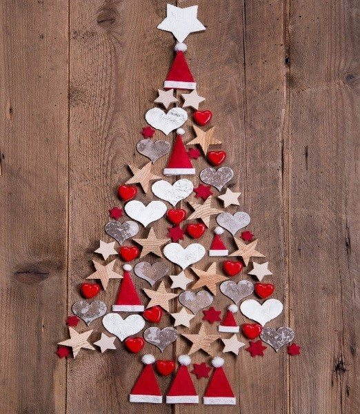 25 rboles de navidad muy creativos hechos por vos m s - Arboles de navidad creativos ...