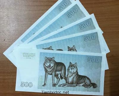 Tiền con chó lithuania bán sỉ
