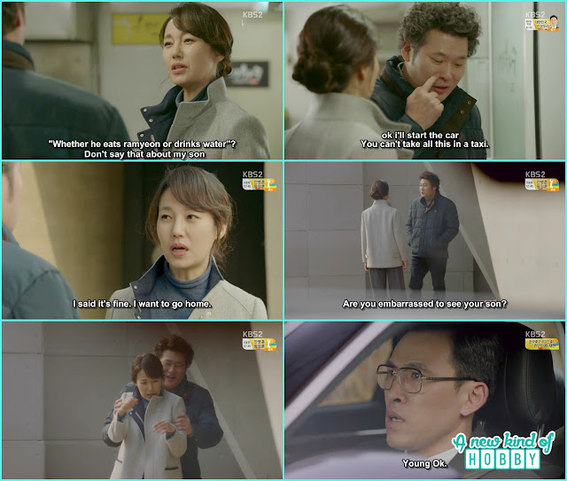 joon young mother and prosecutor choi met infront of joon young house - controllably Fond - Episode 12 Review - Korean Drama 2016