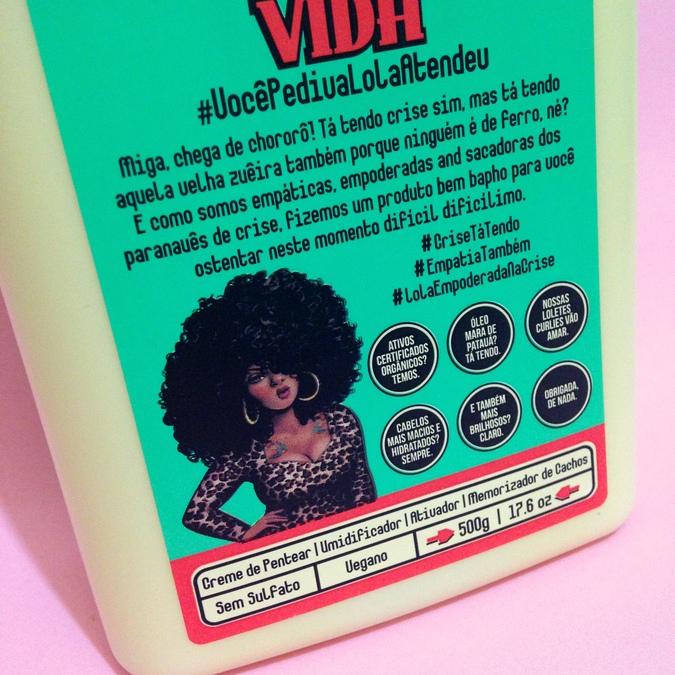 Resenha Meu Cacho Minha Vida creme para pentear da Lola Cosmetics liberado para no e low poo, cruelty free, sem silicones, vegano. @ohlollas