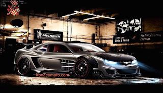 Tout nouveau 2018 Chevy IROC-Z Camaro voiture de sport Concept