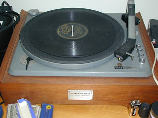 Benjamin Miracord Turntable