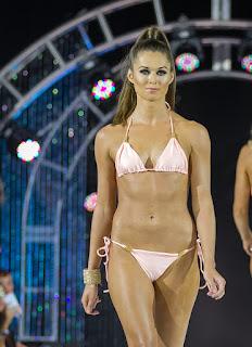 light pink string bikini