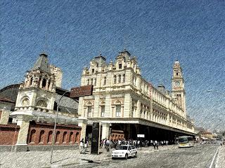 Estação da Luz e Museu da Língua Portuguesa, São Paulo