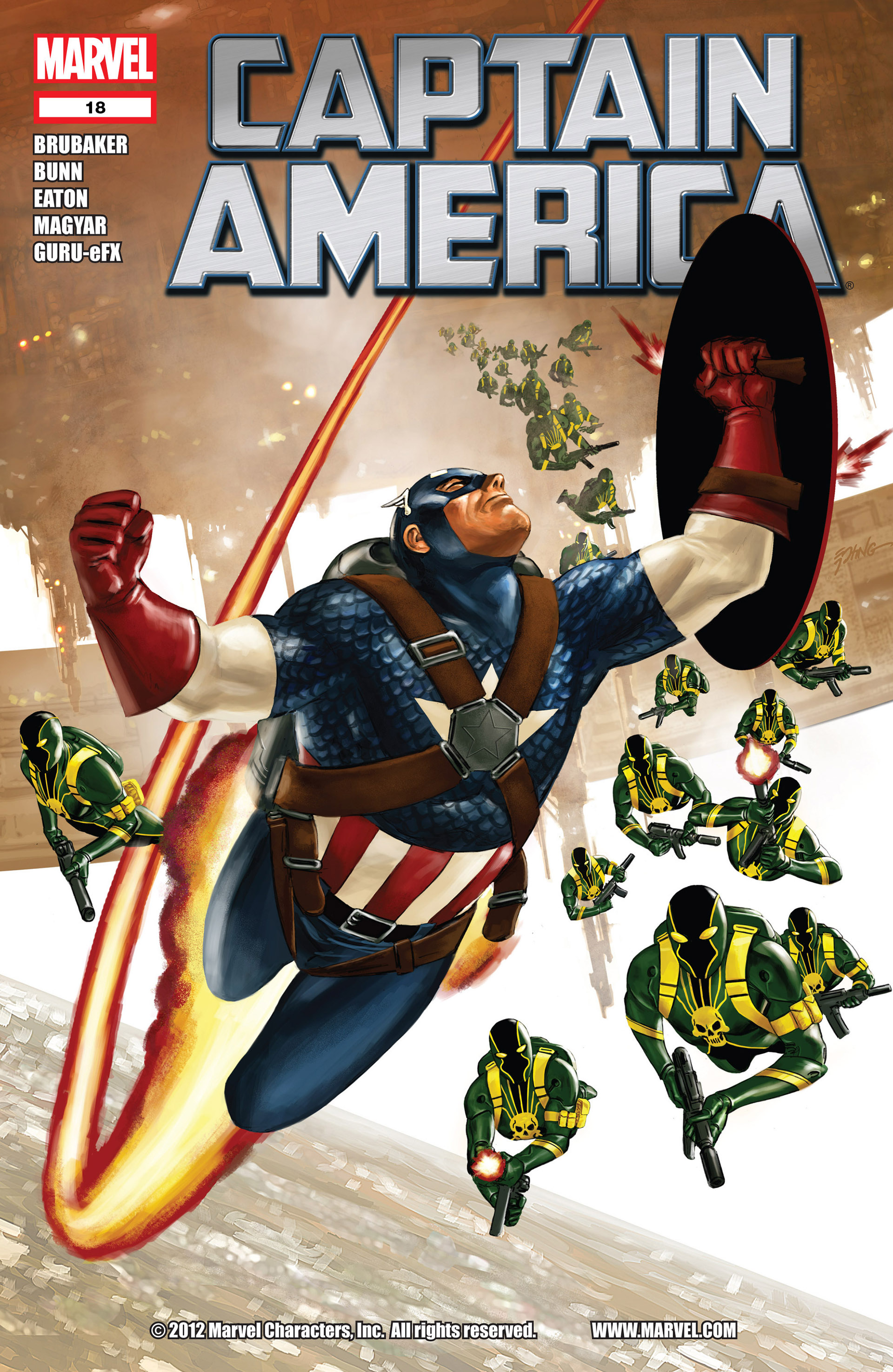 Captain America (2011) 18 Page 1
