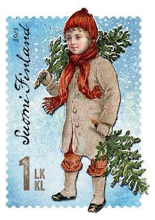 Filatelia - Navidad 2013 - Finlandia