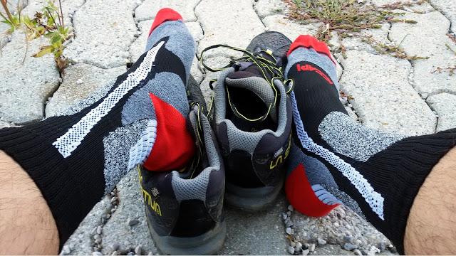 calze da trekking accapi