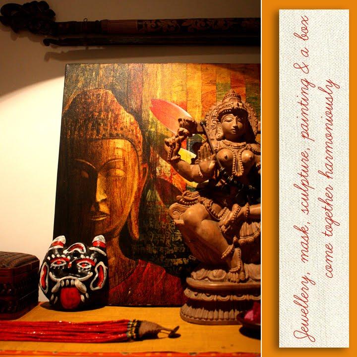 Artnlight: Chandan Dubey's Beautiful Home