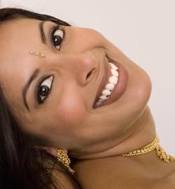 beautiful indonesian smile