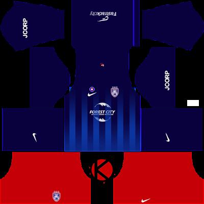 Johor Darul Takzim Kits 2017 | Dream League Soccer