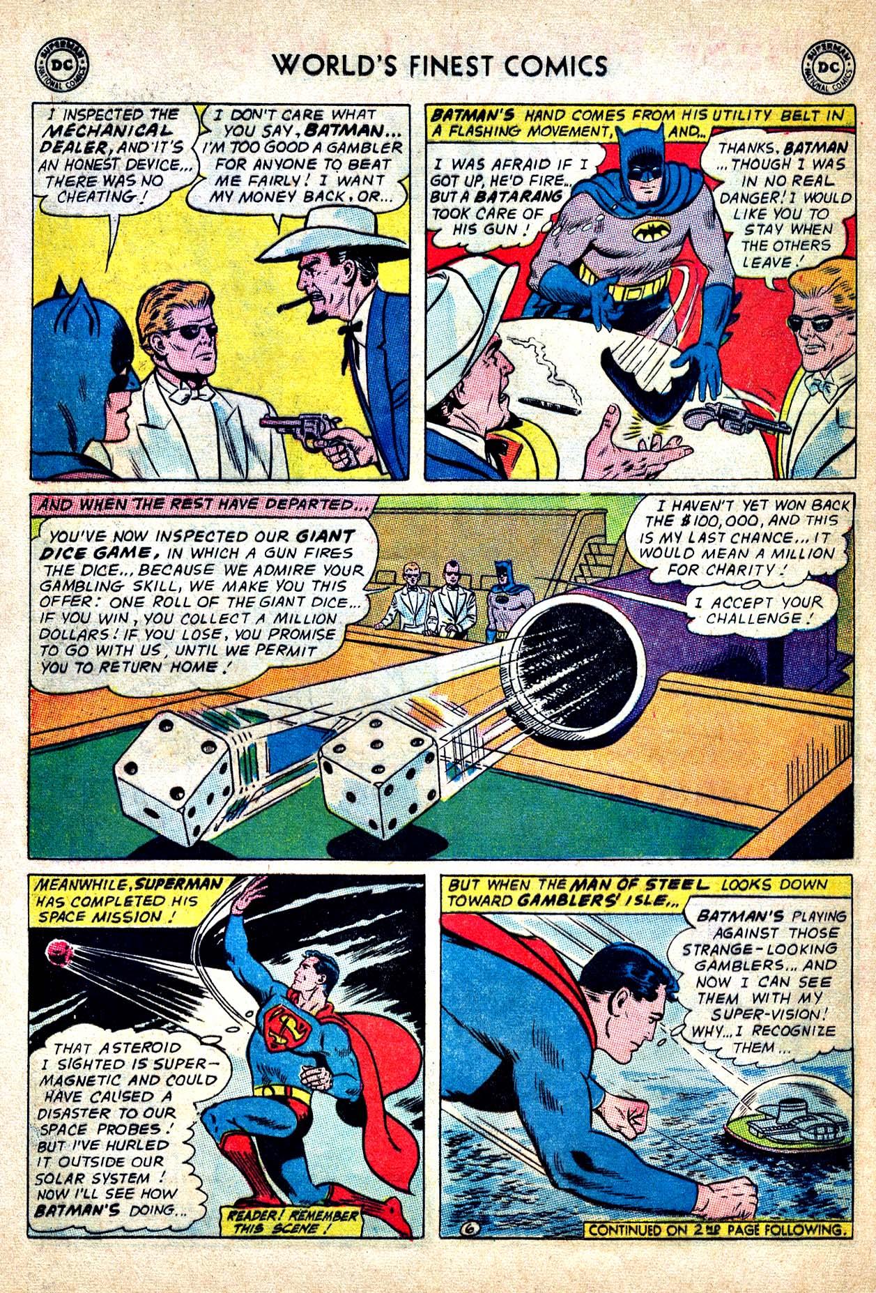 Read online World's Finest Comics comic -  Issue #150 - 8