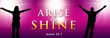 Sermon Jotter: I SHALL ARISE AND SHINE