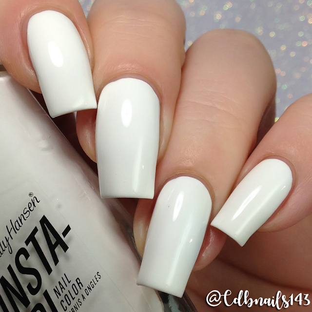 Sally Hansen-White On Time