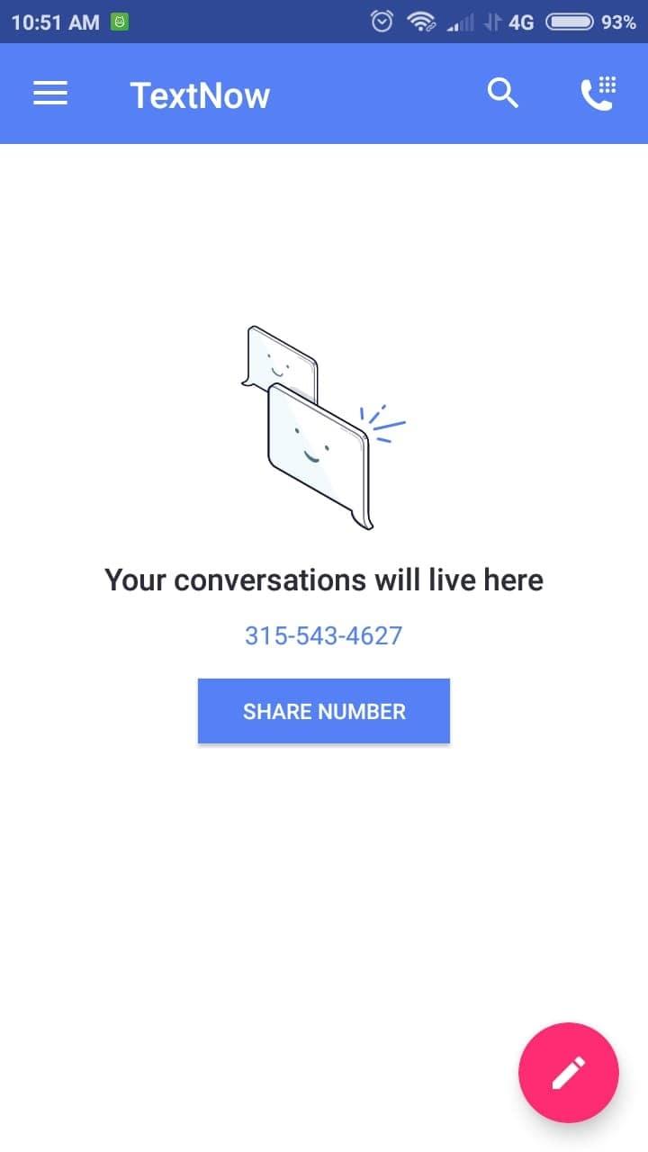 aplikasi text now