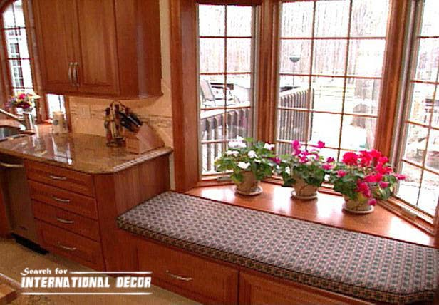 Design kitchen with bay window, basic tips | International ...