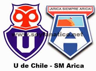 U de Chile vs San Marcos de Arica 2016
