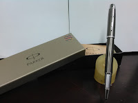 Pulpen Parker P.I AM  DLX.BRUSH.GUN M.CT RB M