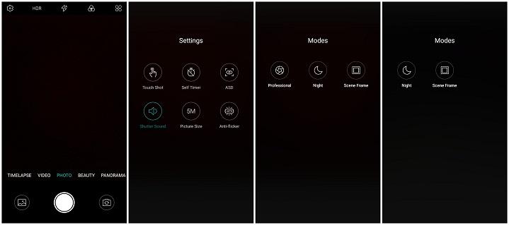 Primo NH3i review Camera Interface ৫ মেগাপিক্সেল ফ্রন্ট ক্যামেরার Walton Primo NH3i এর হ্যান্ডস-অন রিভিউ