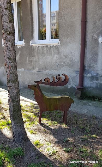 warszawa warsaw wola koło ulice Woli architektura jeleń