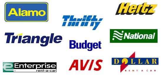 melhores empresas de aluguel de carro nos EUA